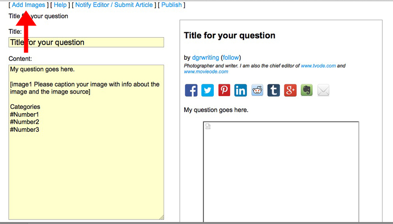Add Image Button