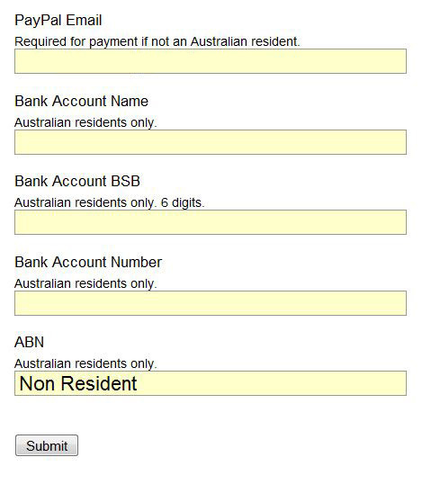 profile,settings,payment 