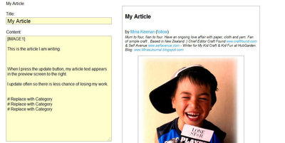 writing article,add image,hubgarden,article