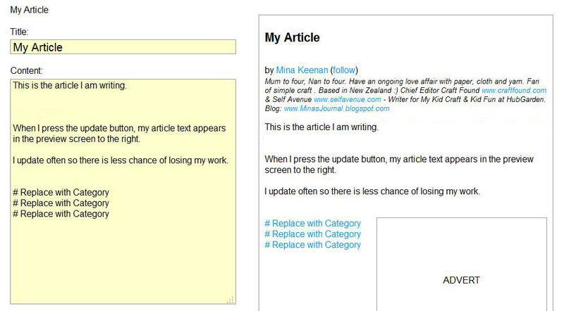 writing article,text,hubgarden guide,article  - Writing an Article